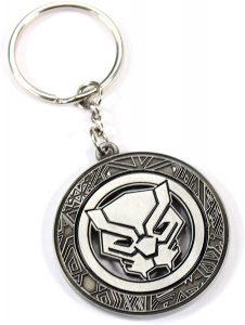 Llavero de logo de Black Panther - Los mejores llaveros de Black Panther de Marvel - Keychain