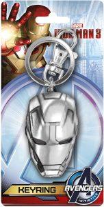 Llavero del casco de Iron man - Los mejores llaveros de Iron man de Marvel - Keychain