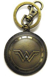Llavero del escudo de Wonder Woman - Los mejores llaveros de DC - Keychain