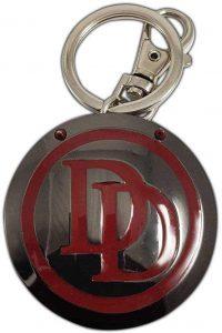 Llavero del logo de Daredevil - Los mejores llaveros de Daredevil de Marvel - Keychain