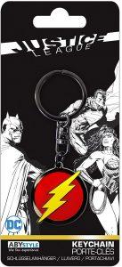 Llavero del logo de Flash - Los mejores llaveros de DC - Keychain
