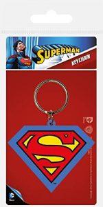Llavero del logo de Superman - Los mejores llaveros de DC - Keychain