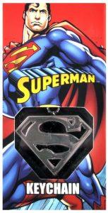 Llavero del logo de Superman de The Noble Collection - Los mejores llaveros de DC - Keychain