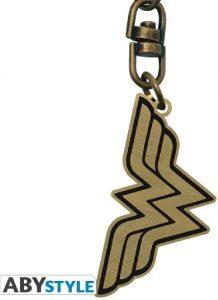 Llavero del logo de Wonder Woman - Los mejores llaveros de DC - Keychain