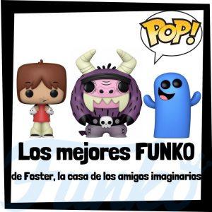 Los mejores FUNKO POP de Foster y la casa de los amigos imaginarios - Funko POP de series de televisión de dibujos animados