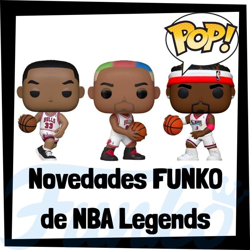 Novedades FUNKO POP de NBA Legends