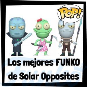 Los mejores FUNKO POP de Solar Opposites - Funko POP de series de televisión de dibujos animados