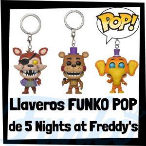 Los mejores llaveros FUNKO POP Pocket de 5 Nights at Freddy's - Llavero Funko POP de personajes de Five Nights at Freddy's - Keychain FUNKO POP Pocket