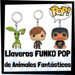 Los mejores llaveros FUNKO POP Pocket de Animales fantásticos de Harry Potter - Llavero Funko POP de Harry Potter - Keychain FUNKO POP del Harry Potter