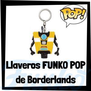 Los mejores llaveros FUNKO POP Pocket de Borderlands - Llavero Funko POP de Borderlands - Keychain FUNKO POP de Borderlands
