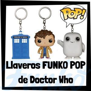 Los mejores llaveros FUNKO POP Pocket de Doctor Who - Llavero Funko POP de Doctor Who - Keychain FUNKO POP de la serie de Doctor Who