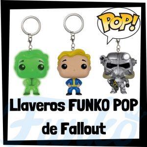 Los mejores llaveros FUNKO POP Pocket de Fallout - Llavero Funko POP de Fallout - Keychain FUNKO POP del videojuego del Fallout