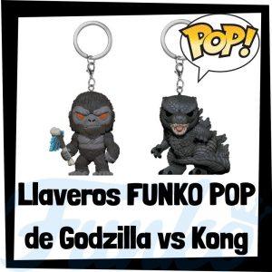 Los mejores llaveros FUNKO POP Pocket de Godzilla vs Kong - Llavero Funko POP de Godzilla vs Kong - Keychain FUNKO POP de Godzilla vs Kong