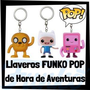 Los mejores llaveros FUNKO POP Pocket de Hora de Aventuras - Llavero Funko POP de Hora de Aventuras - Keychain FUNKO POP de Adventure Times
