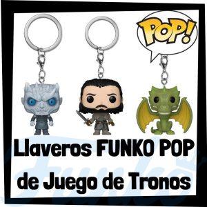 Los mejores llaveros FUNKO POP Pocket de Juego de Tronos - Llavero Funko POP de Game of Thrones - Keychain FUNKO POP de la serie de Juego de Tronos