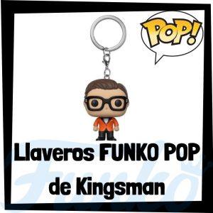 Los mejores llaveros FUNKO POP Pocket de Kingsman - Llavero Funko POP de Kingsman - Keychain FUNKO POP de Kingsman