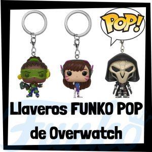 Los mejores llaveros FUNKO POP Pocket de Overwatch - Llavero Funko POP de Overwatch - Keychain FUNKO POP del videojuego del Overwatch
