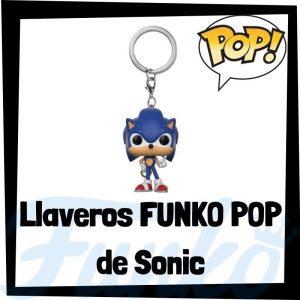 Los mejores llaveros FUNKO POP Pocket de Sonic - Llavero Funko POP de personajes de Sonic - Keychain FUNKO POP de Sonic