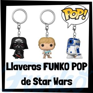 Los mejores llaveros FUNKO POP Pocket de Star Wars - Llavero Funko POP de personajes de Star Wars - Keychain FUNKO POP de la Guerra de las Galaxias