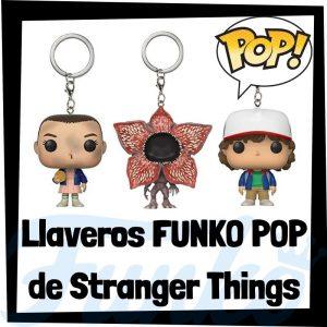 Los mejores llaveros FUNKO POP Pocket de Stranger Things - Llavero Funko POP de Stranger Things - Keychain FUNKO POP de la serie de Stranger Things