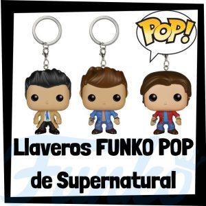 Los mejores llaveros FUNKO POP Pocket de Supernatural - Llavero Funko POP de Supernatural - Keychain FUNKO POP de Supernatural
