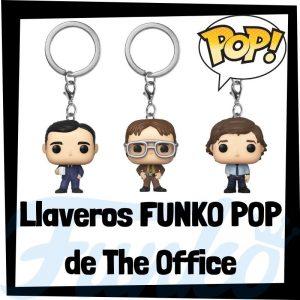 Los mejores llaveros FUNKO POP Pocket de The Office - Llavero Funko POP de The Office - Keychain FUNKO POP de The Office