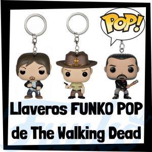 Los mejores llaveros FUNKO POP Pocket de The Walking Dead - Llavero Funko POP de The Walking Dead - Keychain FUNKO POP de la serie de The Walking Dead