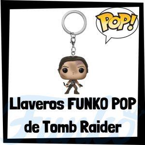 Los mejores llaveros FUNKO POP Pocket de Tomb Raider - Llavero Funko POP de Lara Croft - Keychain FUNKO POP de Tomb Raider