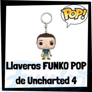 Los mejores llaveros FUNKO POP Pocket de Uncharted - Llavero Funko POP de Uncharted - Keychain FUNKO POP de Uncharted 4