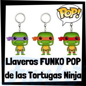 Los mejores llaveros FUNKO POP Pocket de las tortugas ninja - Llavero Funko POP de las tortugas ninja - Keychain FUNKO POP de la serie de las tortugas ninja