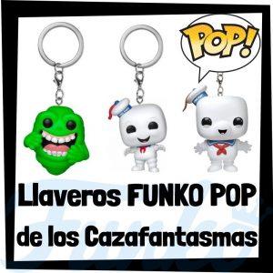 Los mejores llaveros FUNKO POP Pocket de los Cazafantasmas - Llavero Funko POP de Ghostbusters - Keychain FUNKO POP de los Cazafantasmas