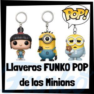 Los mejores llaveros FUNKO POP Pocket de los Minions - Llavero Funko POP de los Minions - Keychain FUNKO POP de los Minions