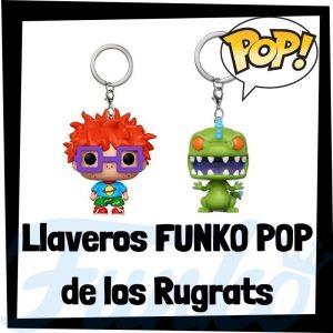 Los mejores llaveros FUNKO POP Pocket de los Rugrats - Llavero Funko POP de los Rugrats - Keychain FUNKO POP de los Rugrats