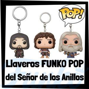 Los mejores llaveros FUNKO POP Pocket del Señor de los Anillos - Llavero Funko POP del Señor de los Anillos - Keychain FUNKO POP del Señor de los Anillos
