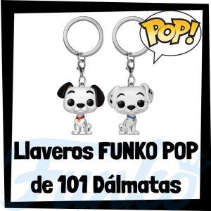 Los mejores llaveros FUNKO POP de 101 dálmatas de Disney - Llavero Funko POP de 101 dálmatas - Keychain FUNKO Pocket POP de Disney