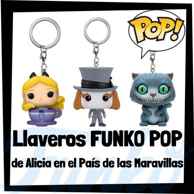 Lee más sobre el artículo Los mejores llaveros FUNKO POP de Alicia en el país de las Maravillas