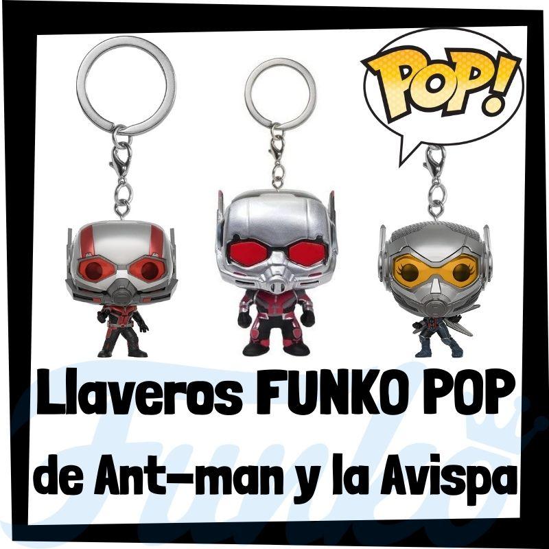 Los mejores llaveros FUNKO POP de Antman y la Avispa