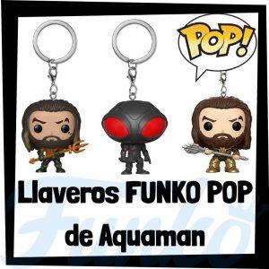 Los mejores llaveros FUNKO POP de Aquaman de DC - Llavero Funko POP Pocket de Aquaman - Keychain FUNKO POP de DC