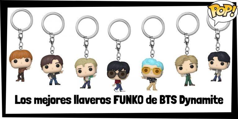 Los mejores llaveros FUNKO POP de BTS Dynamite -Llaveros Funko POP BTS Dynamite de todos los grupos musicales - Keychain FUNKO POP