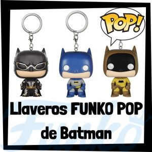 Los mejores llaveros FUNKO POP de Batman de DC - Llavero Funko POP Pocket de Batman - Keychain FUNKO POP de DC