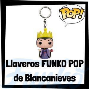 Los mejores llaveros FUNKO POP de Blancanieves de Disney - Llavero Funko POP de la Reina Malvada - Keychain FUNKO Pocket POP de Disney