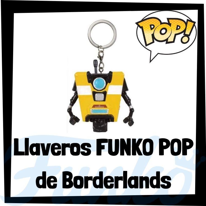 Los mejores llaveros FUNKO POP de Borderlands