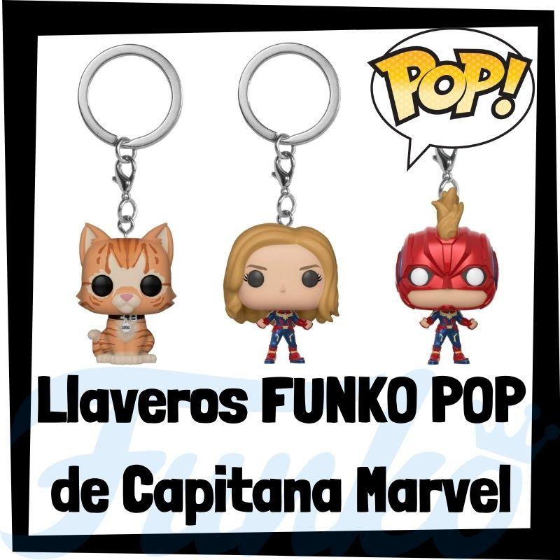 Los mejores llaveros FUNKO POP de Capitana Marvel