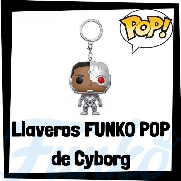 Los mejores llaveros FUNKO POP de Cyborg