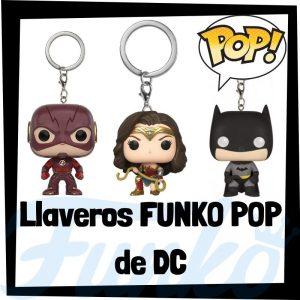 Los mejores llaveros FUNKO POP de DC - Llavero Funko POP de la Liga de la Justicia - Keychain FUNKO POP de DC
