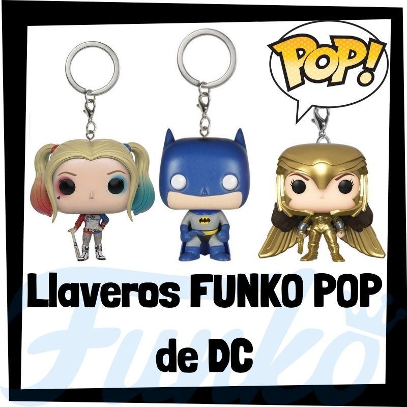 Los mejores llaveros FUNKO POP de DC