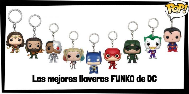 Los mejores llaveros FUNKO POP de DC - Llaveros Funko POP Pocket de DC - Keychain FUNKO POP