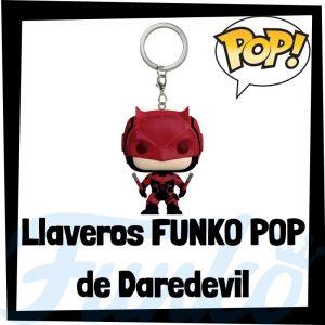 Los mejores llaveros FUNKO POP de Daredevil de los Vengadores de Marvel - Llavero Funko POP de Daredevil - Keychain FUNKO Pocket POP de Marvel