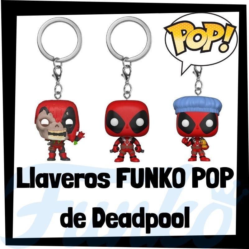 Los mejores llaveros FUNKO POP de Deadpool