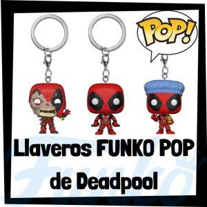 Los mejores llaveros FUNKO POP de Deadpool de Marvel - Llavero Funko POP de Deadpool - Keychain FUNKO Pocket POP de Marvel